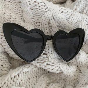 🖤Retro Heart Eye Cat Eye Sunglasses🖤